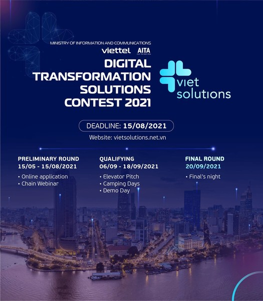 Call for applications for the 2nd season of Viet Solutions - a contest for digital products/solutions by Viettel