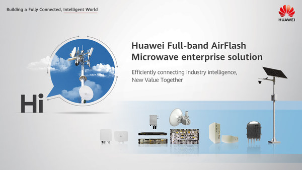 Huawei Full-band Air Flash Microwave Enterprise Solution