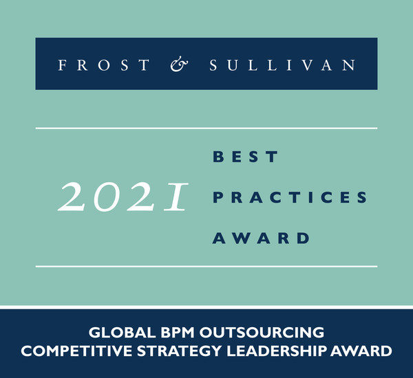 2021 Global BPM Outsourcing Competitive Strategy Leadership Award