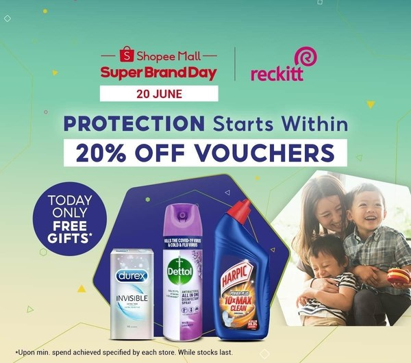 Reckitt and Shopee support Malaysians in fight against pandemic with 'Protection Starts Within' campaign