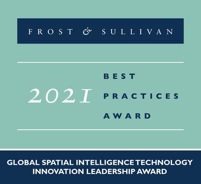 2021 Global Spatial Intelligence Technology Innovation Leadership Award