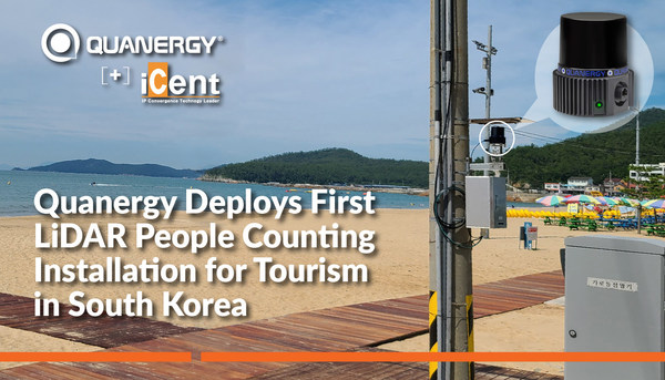 Quanergy Deploys First LiDAR People Counting Installation for Tourism in South Korea