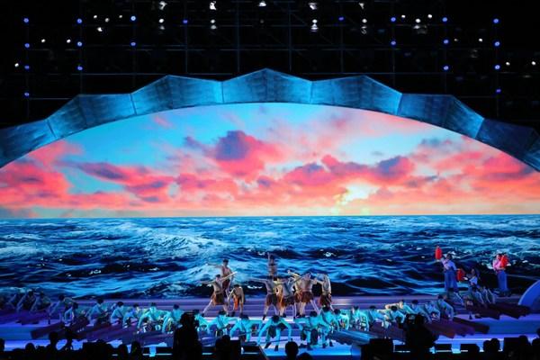 A sizeable cultural tourism show, A Heartfelt Pledge of Love for Yantai