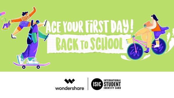 Wondershare Launches Back-to-School Campaign to Usher Students into the New School Year