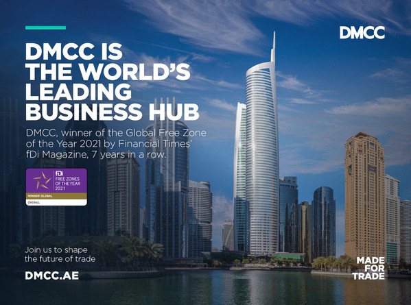 DMCC Awarded 'Global Free Zone of the Year' by Financial Times' fDi Magazine for Seventh Year Running