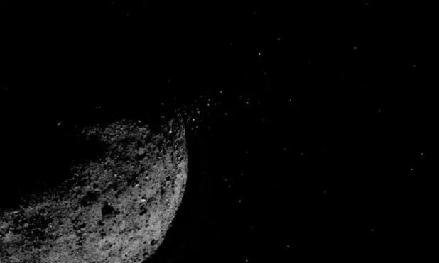 Asteroid Bennu Crystals