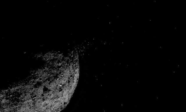Asteroid Bennu Particles