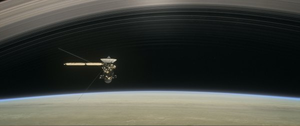 NASA's Cassini Spacecraft to Begin Final Five Orbits ...