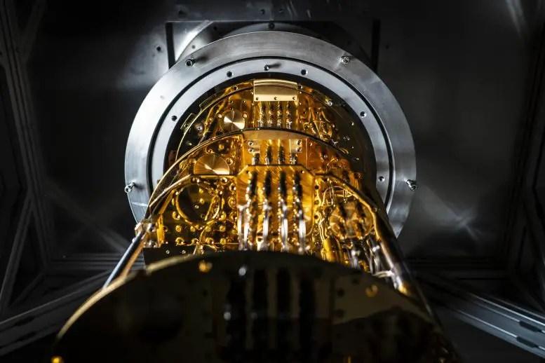 Chalmers quantum computer cryostat