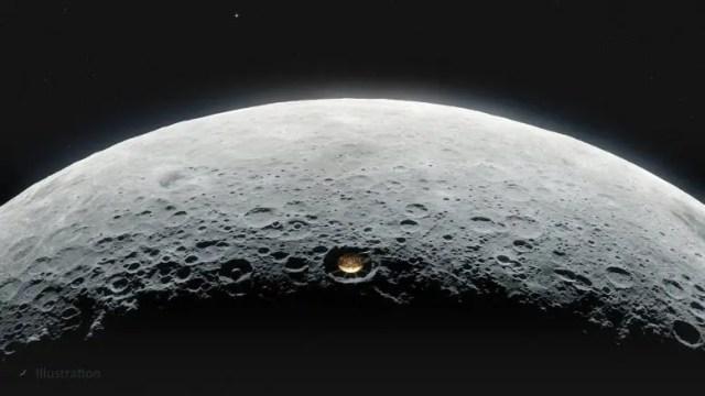 Conceptual Lunar Crater Radio Telescope