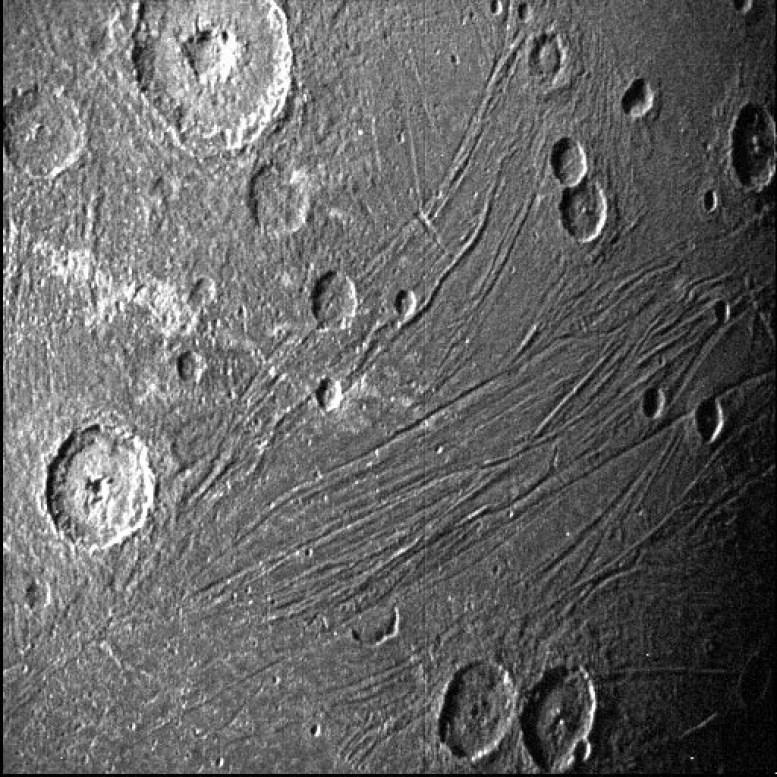 Dark Side of Ganymede