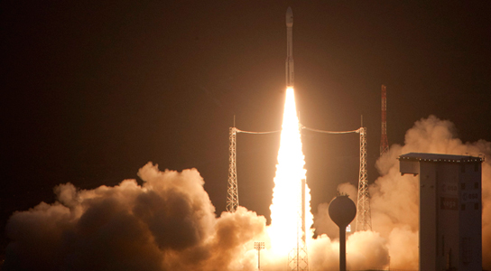 ESA's Vega Rocket Has Launched on Its Maiden Voyage ...
