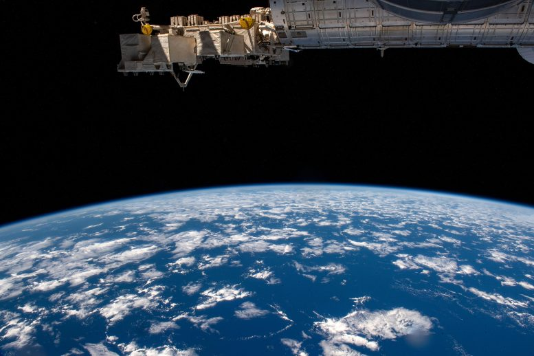 Earth's Limb, or Horizon, From the International Space Station