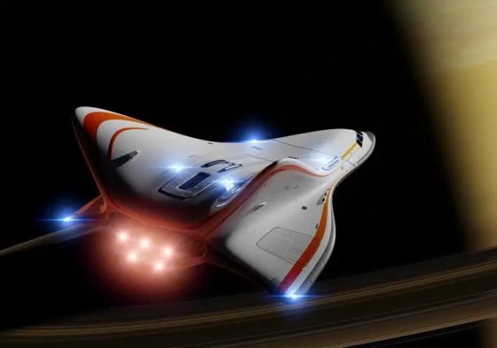 Fütüristik Uzay Gemisi