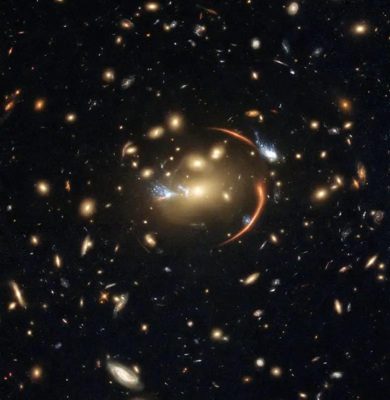 Galaxy Cluster MACSJ0138.0–2155
