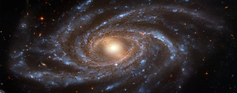 Hubble Captures the Enormous Galaxy Spanning 200,000 Light Years Across