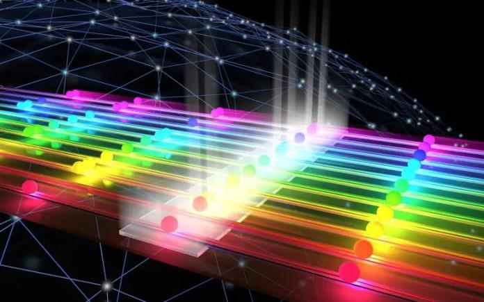 ग्राफिक क्वांटम मैकेनिकल हस्तक्षेप कल्पना करता है