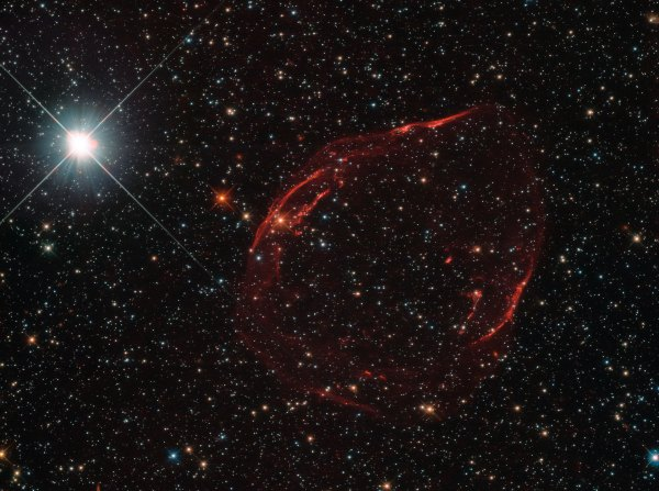 Hubble Telescope Views Exploding White Dwarf Star