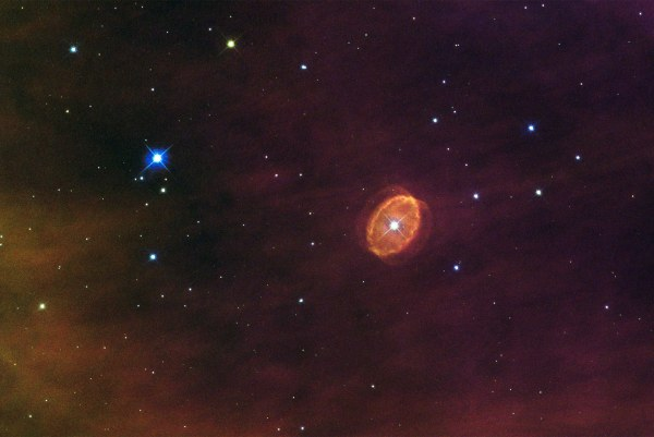 Hubble Views a Star Set to Explode