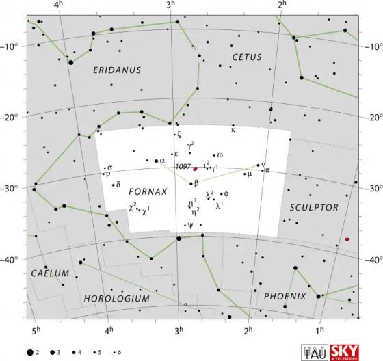 IAU Fornax chart