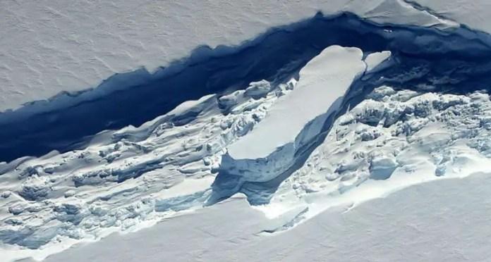 Ice Melange in Antarctica