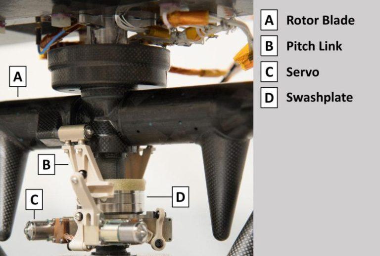 Ingenuity's Upper Swashplate Assembly