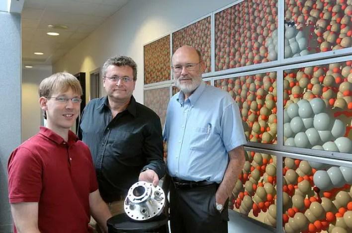 Jeff Greeley, Stefan Vajda ve Larry Curtiss