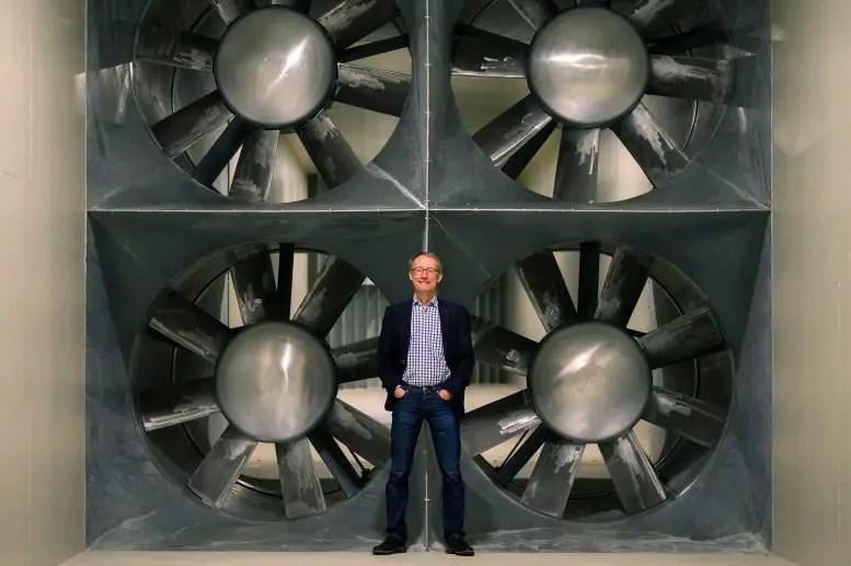 Joachim Peinke Wind Tunnel Fans