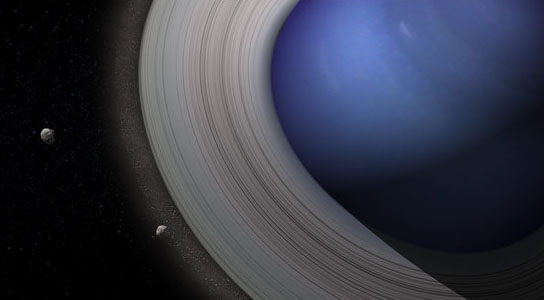 Moons of Solar System Might Have Been Formed From Saturn-Like Rings