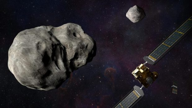 First objective of NASA's planetary defense mission
