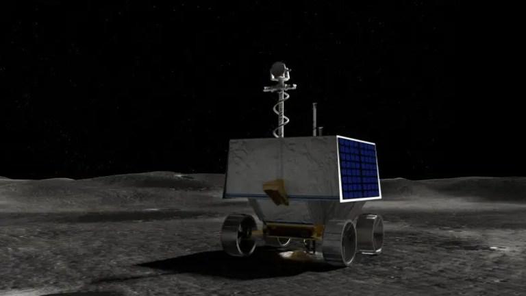 NASA Volatiles Investigating Polar Exploration Rover
