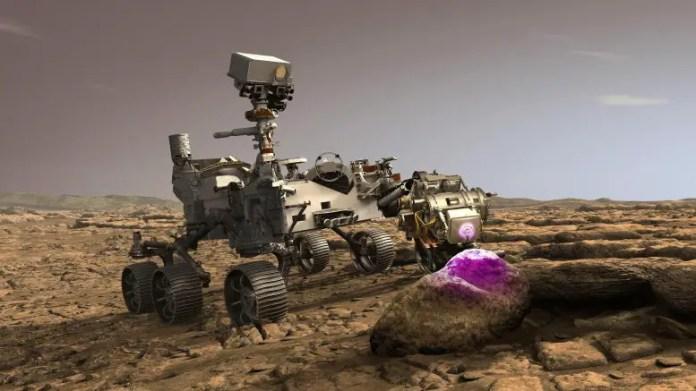 NASA's Mars Rover Perseverance Using PIXL