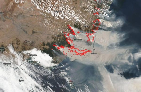 Stunning Satellite Images As Rain Brings Relief to ...
