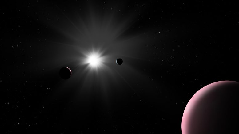 Nu2 Lupi Planetary System