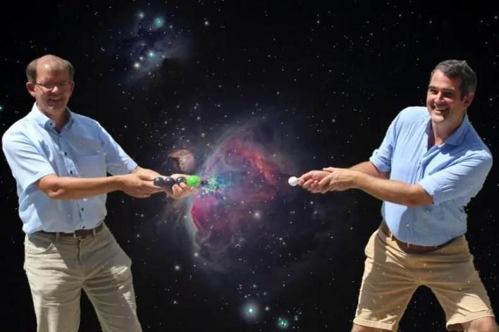 Roland Wester ve Malcolm Simpson