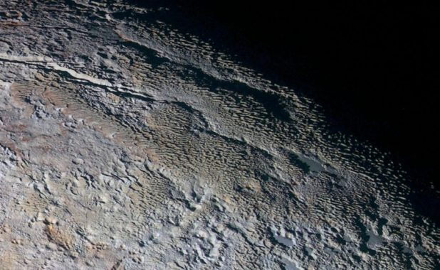 Intense insights into Pluto's bladed terrain
