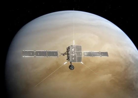 Solar orbiter Venus Flyby
