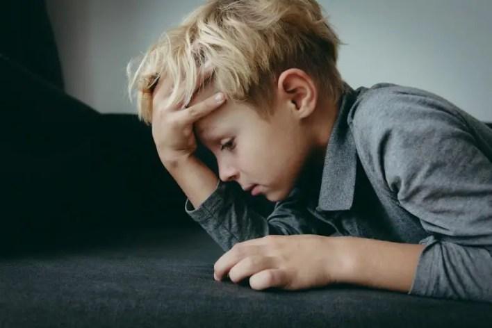 stresli depresif çocuk