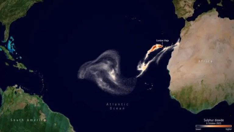 Sulfur Dioxide Concentrations October 2021