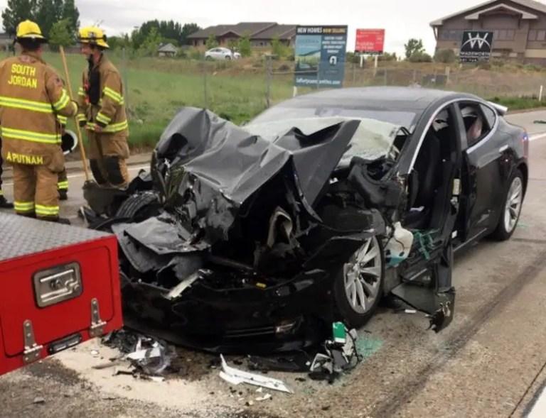 Tesla Autopilot Accident