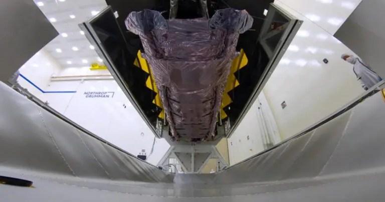 Transporting Webb Space Telescope