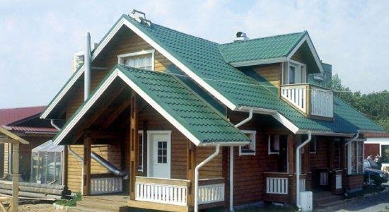 металлочерепица крыша фото 2