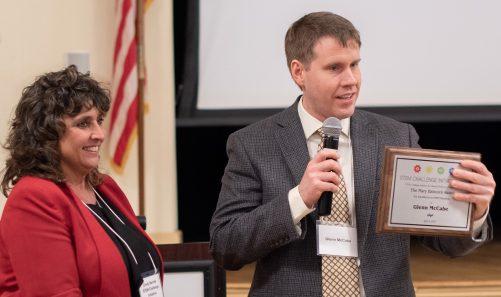 2019 STEM Challenge Initiative Mary S. Babcock Teacher of the Year Award Presented to Glenn McCabe of BFA Saint Albans