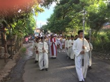 procession before Mass
