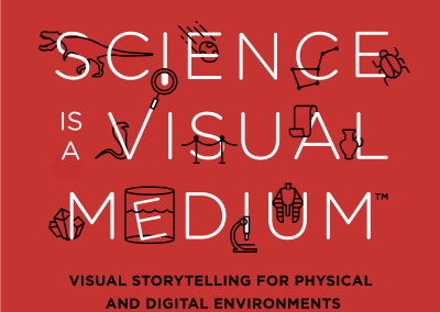 Science is a Visual Medium Poster Campaign