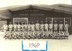 Staff Photo 1969