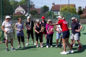 Ladies' Tennis Morning