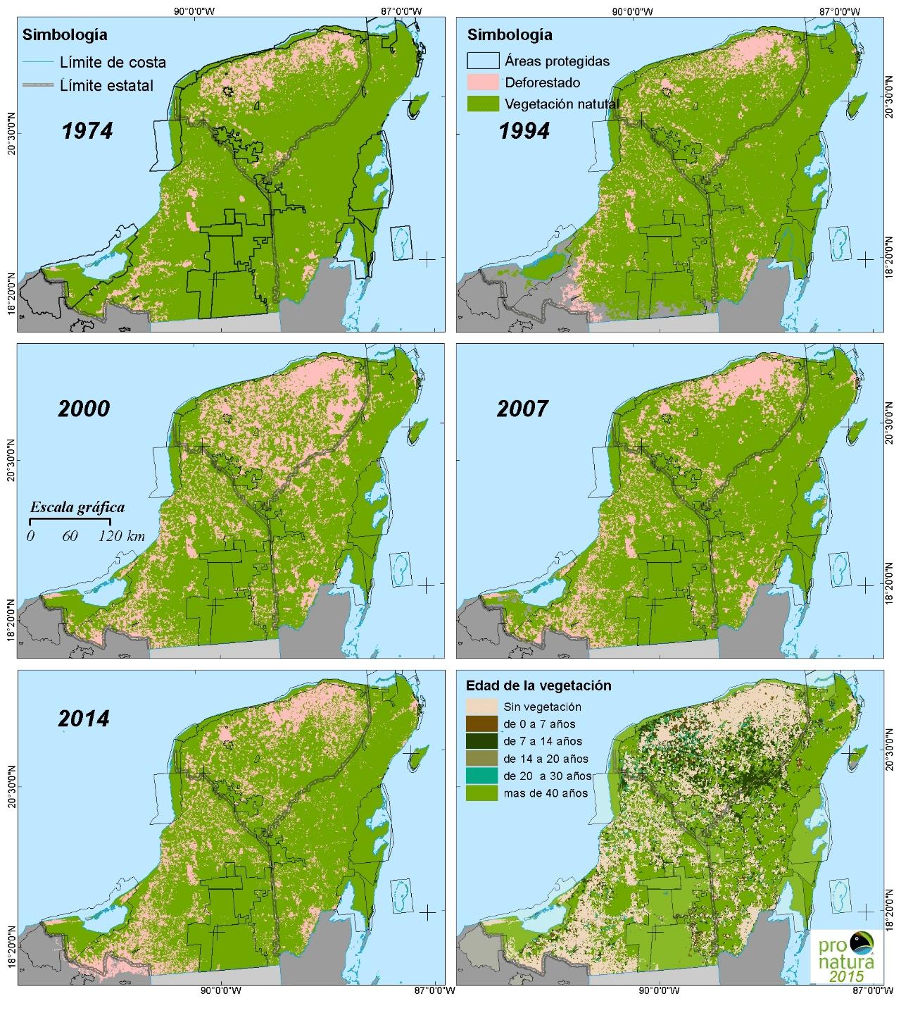 Amenazas a la biodiversidad de la Península de Yucatán, retos y necesidades  de investigación
