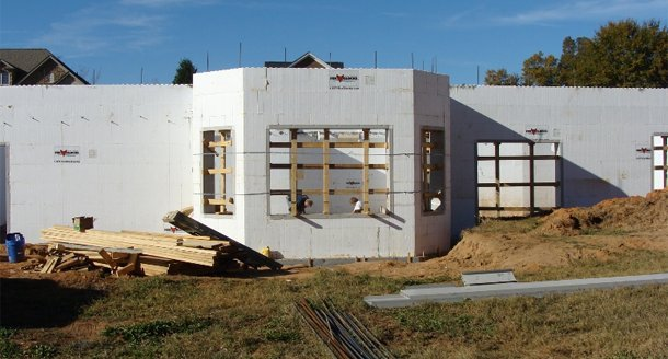 Exterior wall framing cost per square foot for Icf cost per square foot