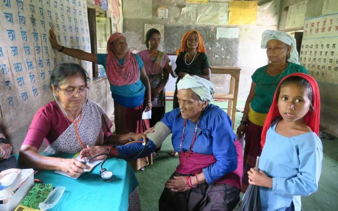 Mobile health clinic helps village receive care